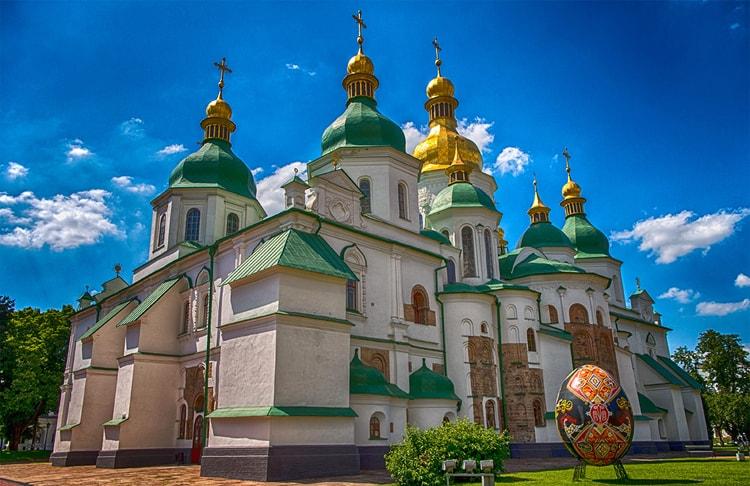 Софийский Собор, похожего собора нет даже на территории бывшей Византии.