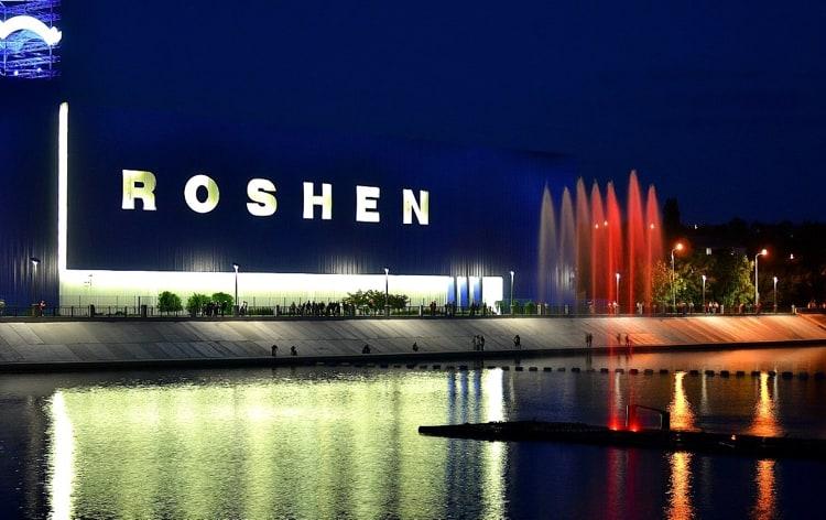 Фонтан Рошен – главная достопримечательность города Винница.