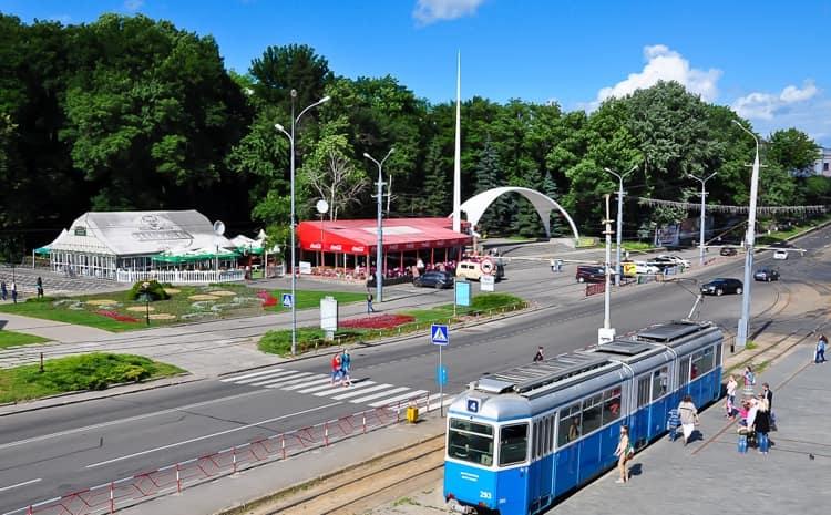 Парк в Виннице.