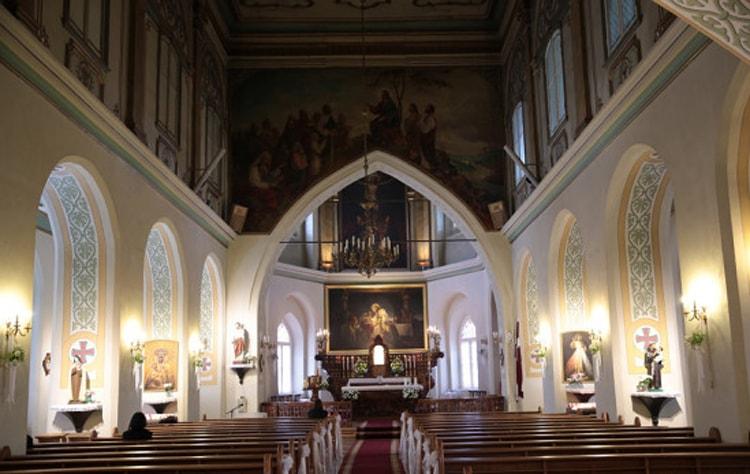 Так выглядит церковь Марии Магдалины в средине