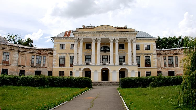 Усадьба-имение Грохольских в городе Винница.