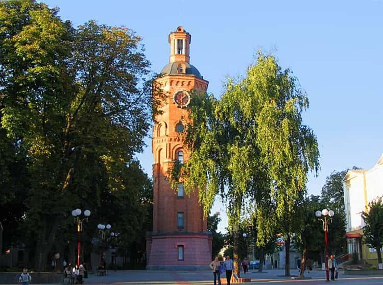 Водонапорная башня – одна из основных достопримечательностей города Винницы.