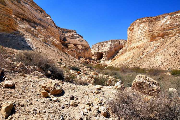 Пустыня Негев в Израиле