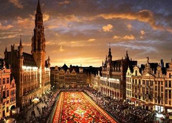 Бельгия, площадь Гранд-плас.