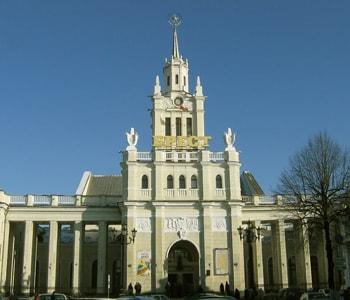 Вокзал города Брест.