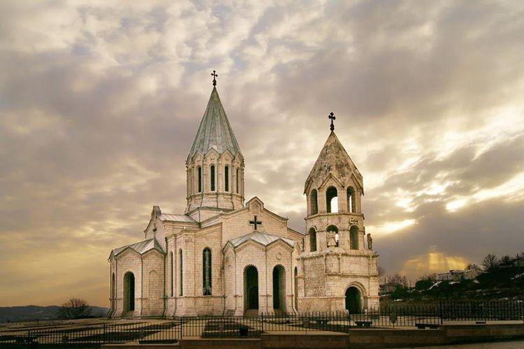 Церковь Сурб Аменапркич – символ города Гюмри.