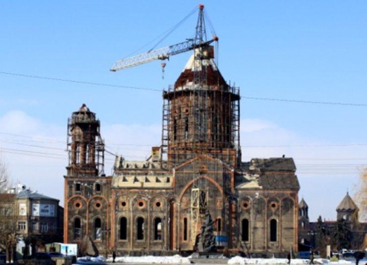 Церковь Святой Богородицы – это древнейший храм Армянской апостольской церкви.