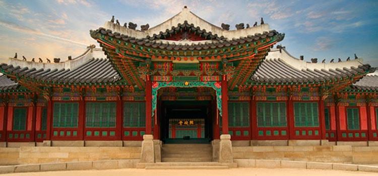 Так выглядит дворец Чхандоккун