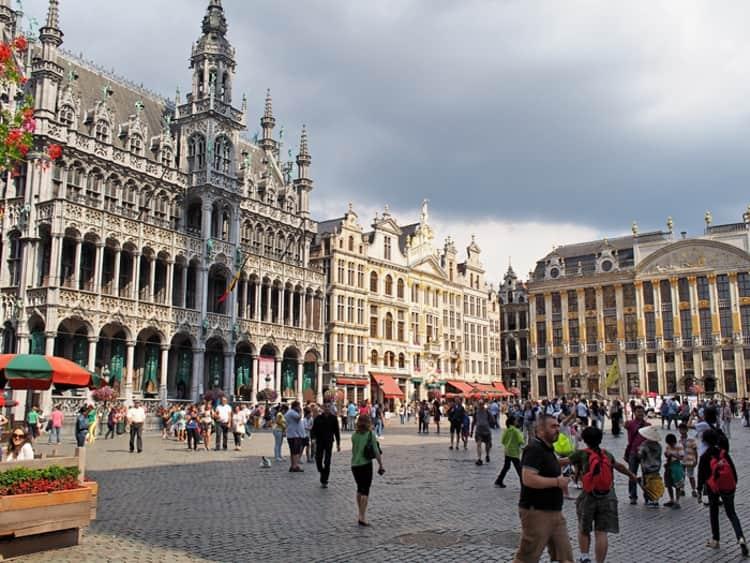Дом короля - уникальная достопримечательность Брюсселя.