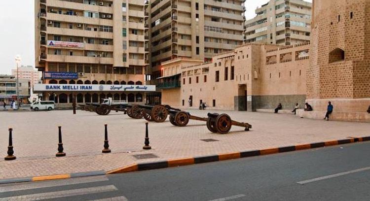 Форт Шарджи Аль-Хиш древняя достопримечательность города Шарджа.