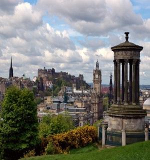 Эдинбург и достопримечательности города.