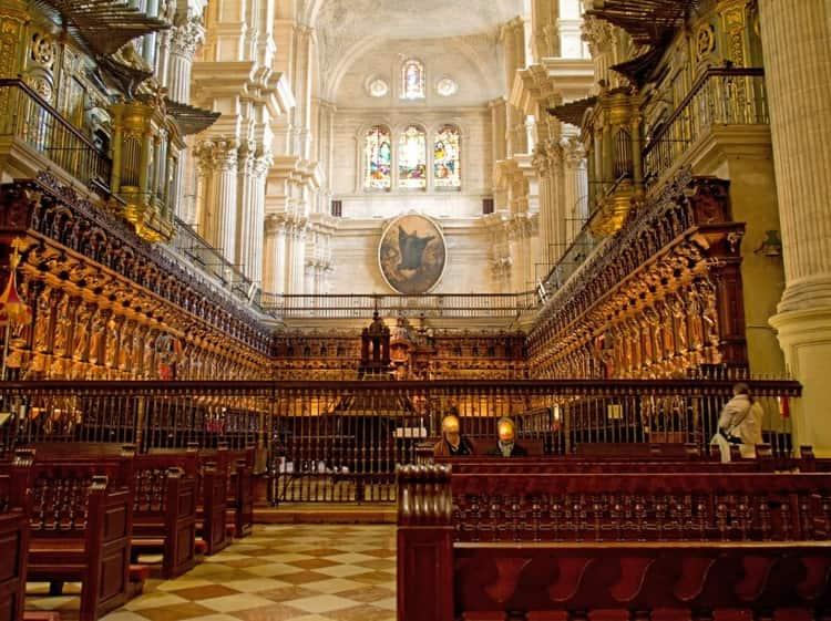 Кафедральный собор - старинная достопримечательность Малаги.