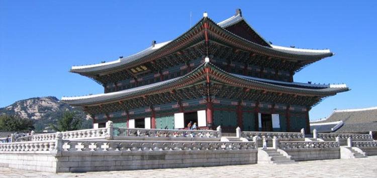 Так выглядит дворец Кёнхигун