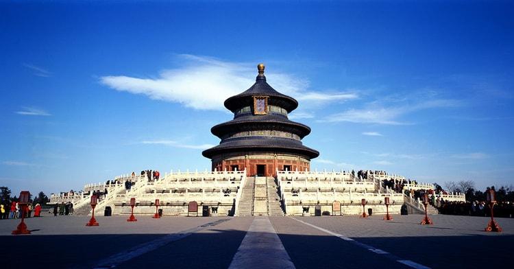 Так выглядит храм Неба в Пекине