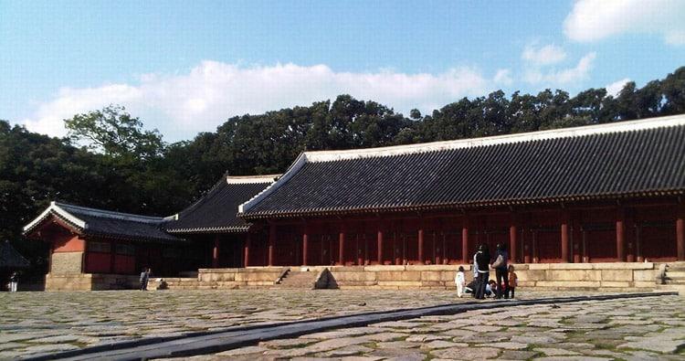Королевский конфуцианский храм Чонмё