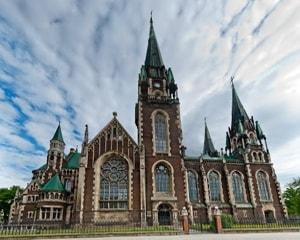 Костел Святой Эльжбеты – достопримечательность в городе Львов.