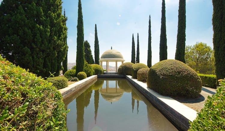 Ботанический сад – Ла Консепсьон - достопримечательность в Малаге с тропическими растениями.