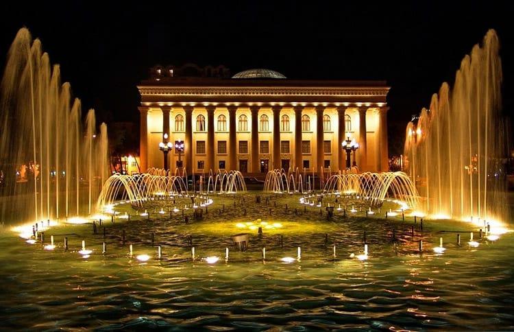 Музыкальный фонтан в Баку