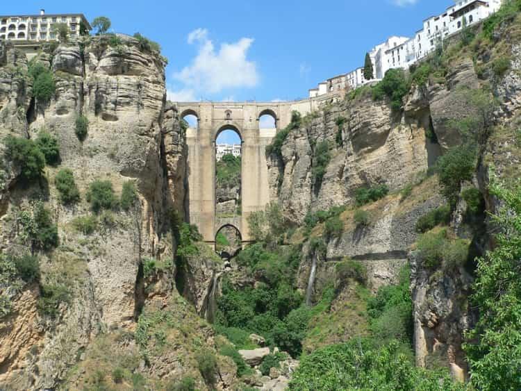 Новый мост Ронды - достопримечательность в Малаге.