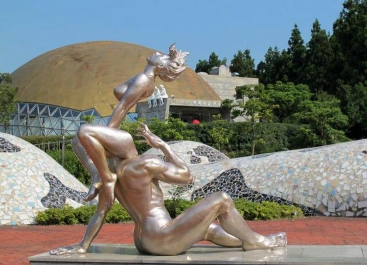 Одна из самых необычных достопримечательностей Южной Кореи.