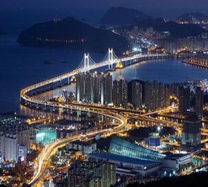 Так выглядит Сеул ночью