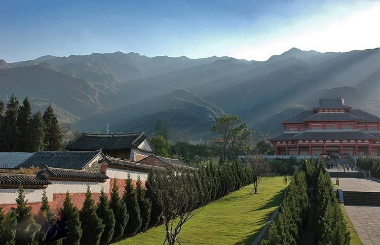 Так выглядит монастырь Шаолинь