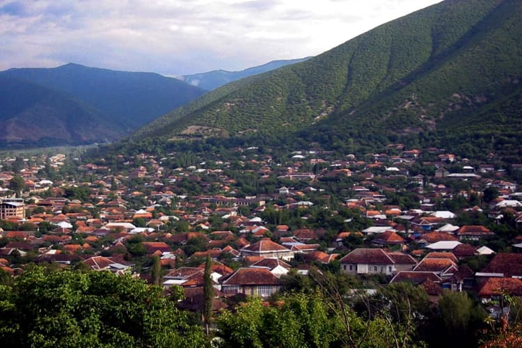 Шеки – один из древнейших городов Кавказа.