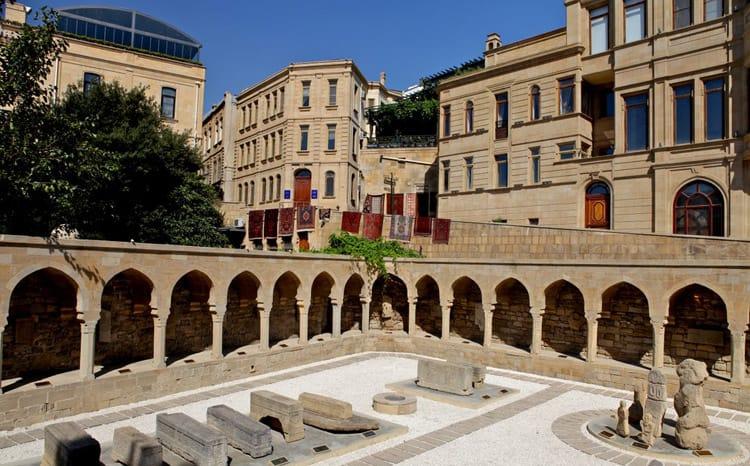 Старый город в Баку