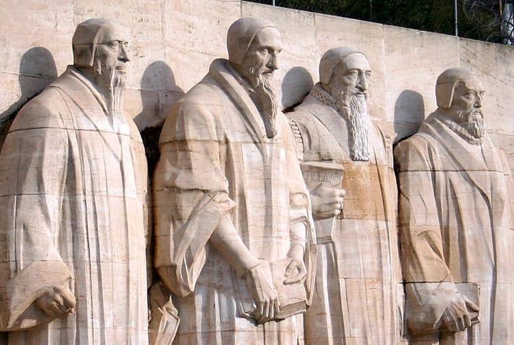 СтенеаРеформации - достопримечательность в Женеве, где мечтает побывать каждый турист.