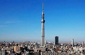 Так выглядит Токийская телебашня