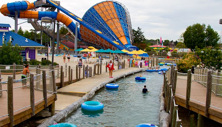 Так выглядит Wild Water Kingdom