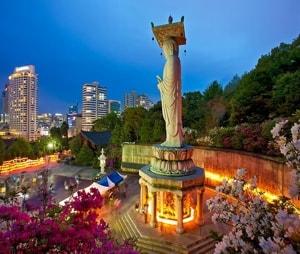 Интересные достопримечательности городов Южной Кореи