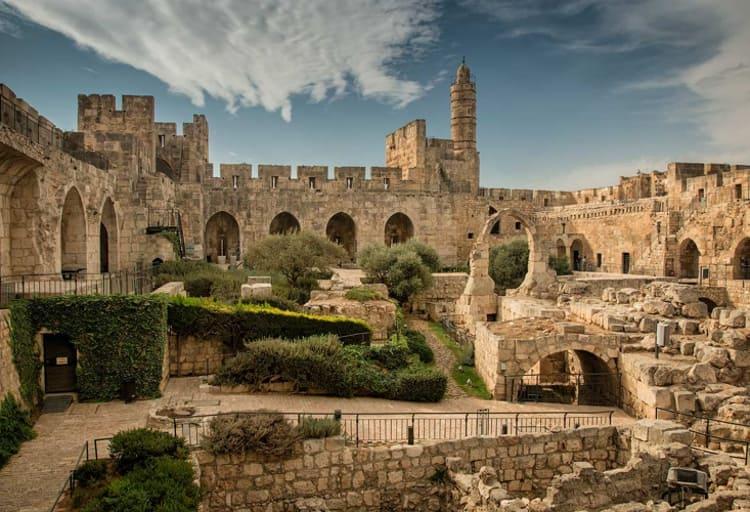 Красивые и старинные достопримечательности Иерусалима