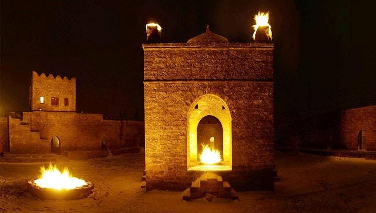 Так выглядит храм вечного огня