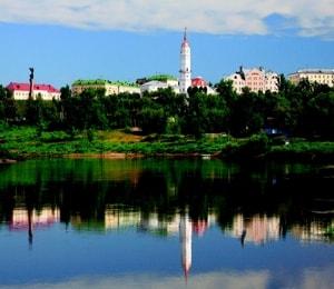 Красивый Могилев достопримечательности этого города.