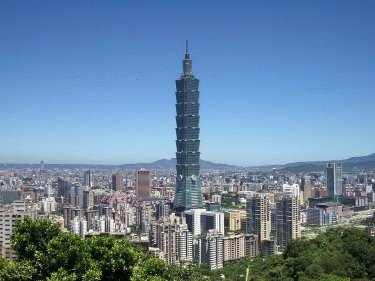 Так выглядит небоскреб Тайбэй 101