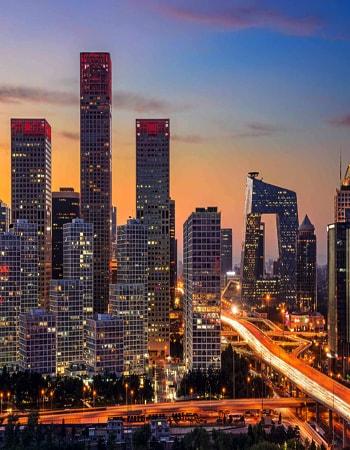 Пекинский телецентр одна из самых узнаваемых достопримечательностей.