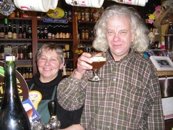 Владельцы Kulminator, семейная пара – Дирк и Хелен.
