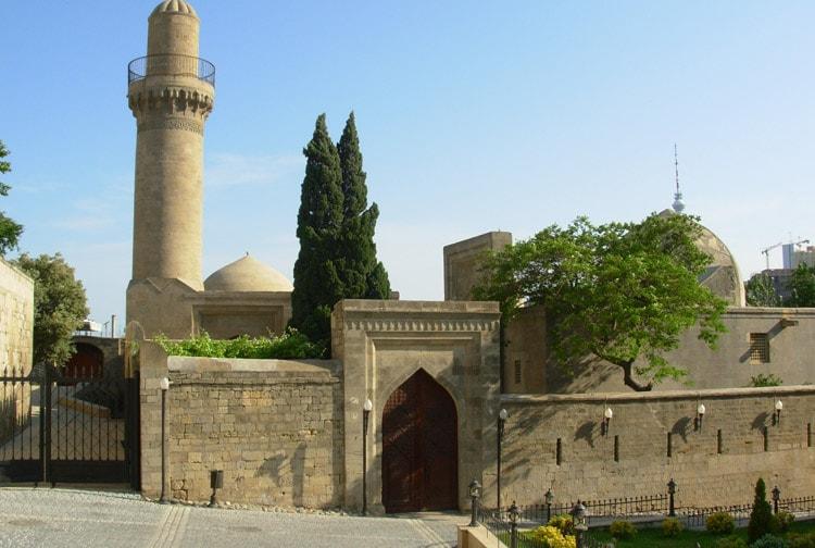 Вид старой крепости