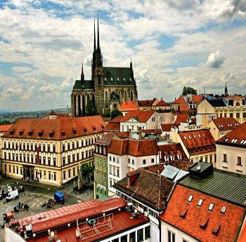 Брно – второй самый крупный город в Чехии