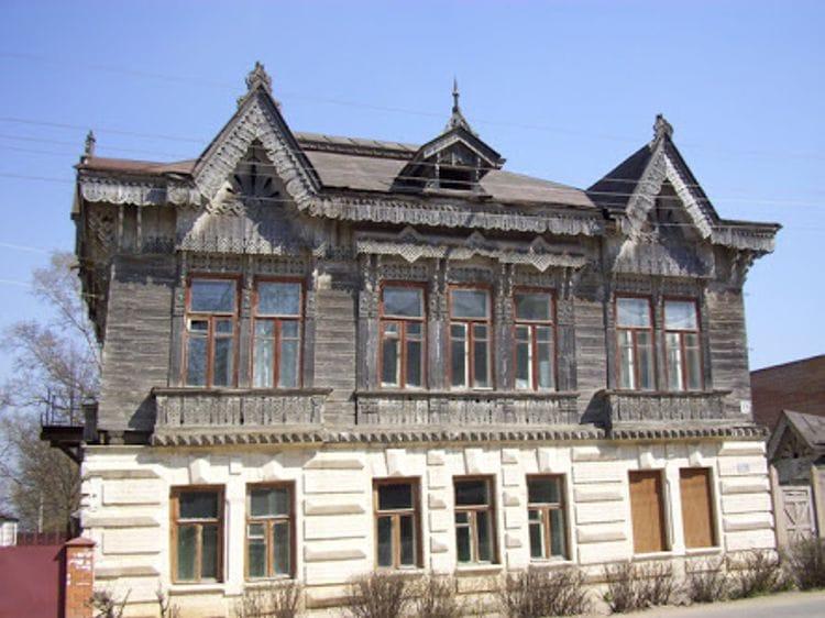 Дом Шохиных - его по праву называют самым красивым домом города Боровска.
