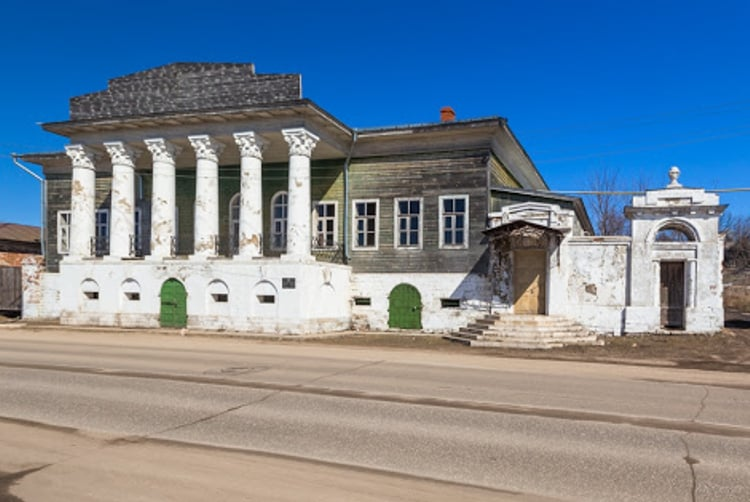 Усадьба купца Баркова – яркий образец купеческой усадьбы и достопримечательность Касимова.