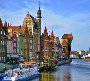 Гданьск и самые главные и интересные достопримечательности города.