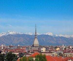 Город Турин со всеми его главными достопримечательностями которые нравятся туристам.