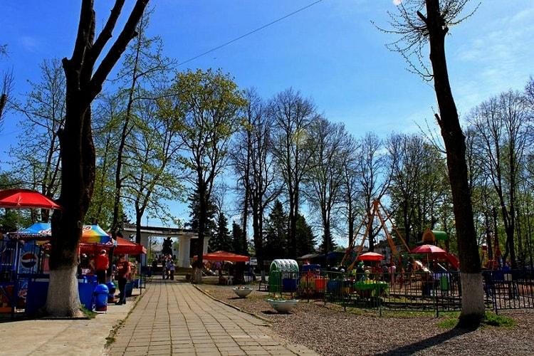 Городской парк в Вязьме
