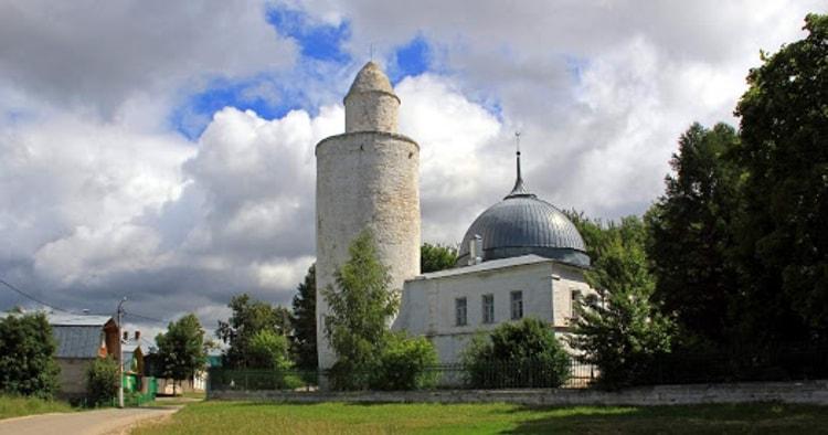 Ханская мечеть в Касимове считается одной из главных достопримечательностей этого города.