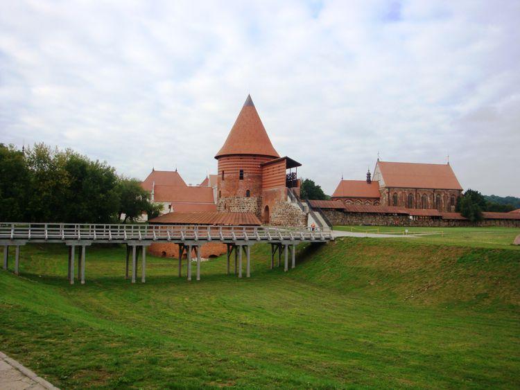 Каунасский замок - наиболее заметная достопримечательность города Каунас.