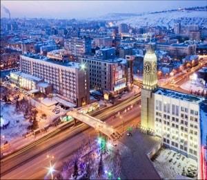 Главные достопримечательности Красноярска с фото,названиями и описанием.