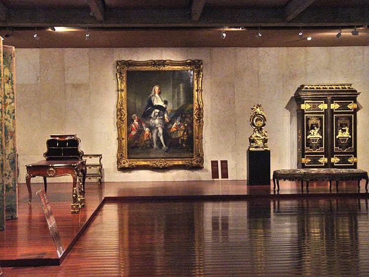 Музей Галуста Гюльбенкяна, культурная достопримечательность Лиссабона.
