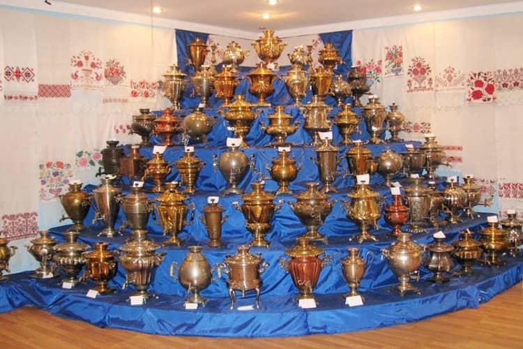 Музей самоваров в Касимове является интересной достопримечательностью города Кесимов.